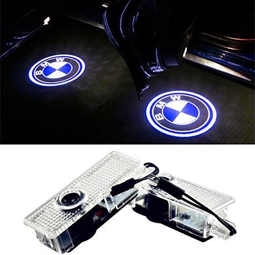 NMXPW 2 Stück Autotür Logo Türbeleuchtung Projektion Einstiegsleuchte Projektor Licht Shadow Light