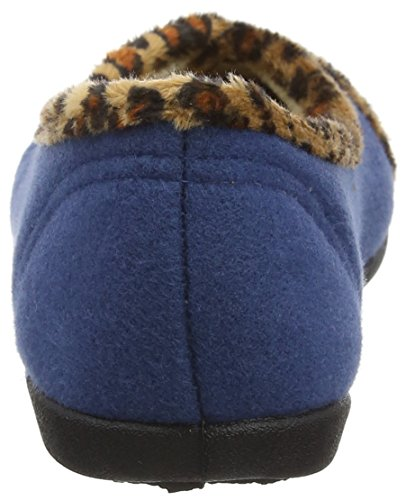 Pantofole Basse Savannah Da Donna, Blu Blues (denim Blu)