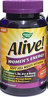 Alive Soft Jells for Women- Pack of 60 Tablets by Alive