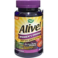 Alive Women's Energy soft-jell multivitamins 60 by Alive