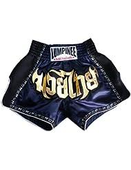 lumpinee Rétro Muay Thai Short Kick Boxing: lumrto-003-navy