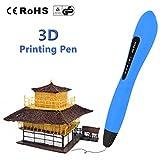 LAOPAO Stylo d'impression 3D pour les enfants, avec des modèles de dessin de PCL (bleu) pour des jouets et des cadeaux d'enfants