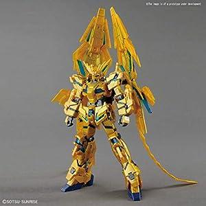 BANDAI - Modelo de Montaje Unicorn Gundam 03 Phenex Destroy Mode, Multicolor, Escala 1/144, BAN229965