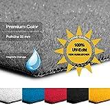 casa pura Kunstrasen Premium Color • Weicher Flor 25 mm • UV-beständig > 6000 h & wasserdurchlässig • Rasenteppich Meterware