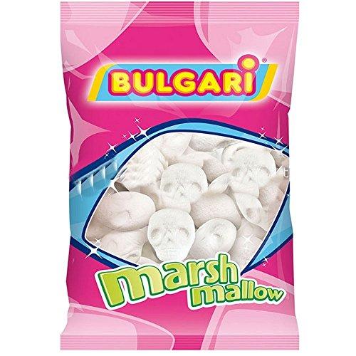 Teschi di marshmallow in 3D per la festa di Halloween 100 gr Senza Glutine