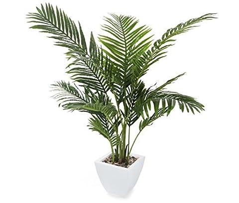 Closer2Nature Artificial 4ft Areca Palm Tree - Portofino Planter Not (Vaso Albero Di Natale)