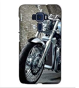Fuson Designer Back Case Cover for Asus Zenfone 3 ZE552KL (5 Inches) (Designer Bike theme)