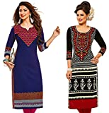 Jevi Prints - Combo of 2 Unstitched Prin...