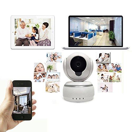 Überwachung, Alarm Wireless HD IP-Kamera Webcam, Ring Webcam-Alarm Sicherheit Sicherheit für das Baby Pet Monitor - Wanscam Wireless Ip-kamera