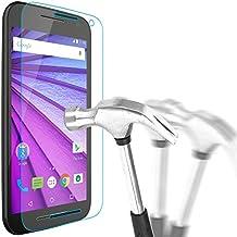 Motorola Moto G3 Templado Cristal, Bingsale Protector De Pantalla Vidrio Templado Ultra Transparente Anti-shatter Película Para Motorola Moto G3 2015