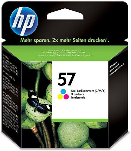 HP 57 Farbe Original Druckerpatrone für HP Deskjet, HP Photosmart, HP PSC, HP Officejet - Farbpatrone Farbe