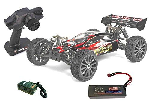 Coche radiocontrol Himoto Buggy Shootout. Electrico Brushless. 4WD. Emisora 2,4Ghz. Escala 1/8. MEGAE8XBL