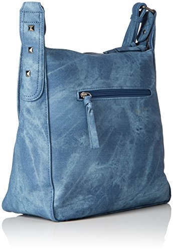 Tamaris - Blondie Crossbody Bag, Borsa a tracolla Donna Blau (denim)