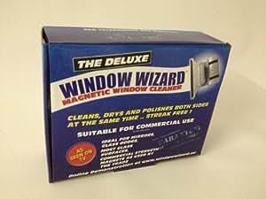 Window Wizard Lave-vitres magnétique pour double vitrage Épaisseur 32 mm