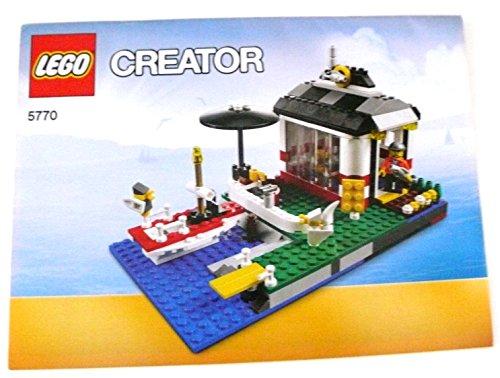 Preisvergleich Produktbild AV-127 LEGO ® - - Bauanleitung - 5770 - Fischerhütte