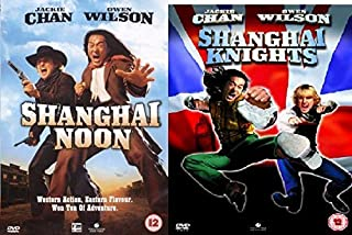 Shanghai Noon / Shanghai Knights (2 Discs) Double DVD Martial Arts Comedy Collection Extras by Jackie Chan