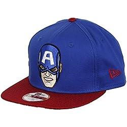 Gorra New Era – 9Fifty Avengers Capitán América Azul/Rojo M/L