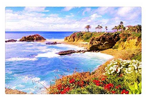 irocket Innen Boden Teppich/Matte-Laguna Beach, California (59,9x 39,9cm 60cm x 40cm) - Laguna-schlafzimmer-möbel