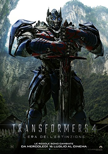 Transformers 4 optimus prime Poster on fine art paper 13x19  available at amazon for Rs.165