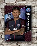 Huawuque Paris Saint-Germain F.C. Neymar Poster,
