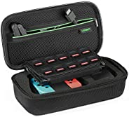 UGREEN Nintendo Switch Bag Shockproof Case Travel Carrying Case with Carved soft Liner for Nintendo Switch Con