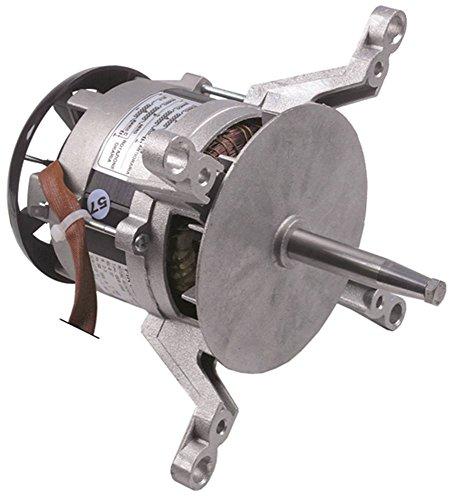 FIR 1020.2350 Lüftermotor 230V 0,37kW 2800U/min 50Hz 1 -phasig D1 ø 17mm D2 ø 12mm M8x1,25 Länge 172mm L2 53mm L3 33mm 10 2,5A