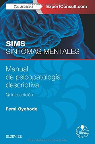 SIMS SÍNTOMAS MENTALES. MANUAL DE PSICOPATOLOGÍA DESCRIPTIVA