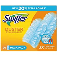 Swiffer Staubmagnet-Tücher, Mega Nachfüllpack, 20 Stück