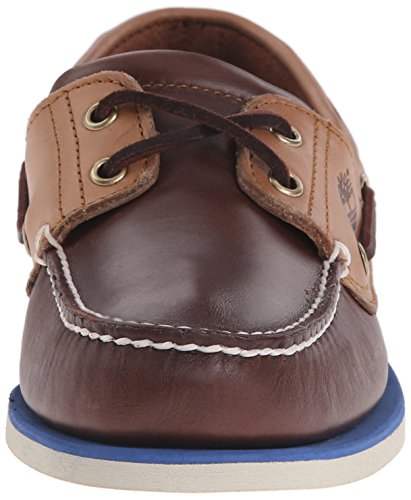 Timberland Herren Classic Boat 2 Eyepotting Soil and Tan Two-Tone Bootsschuhe Braun (Potting Soil And Tan Two-Tone)