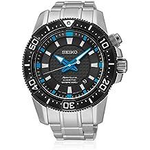 SEIKO SKA561P1 - Reloj de caballero Seiko SPORTURA Kinetic - Calendario 200 M, Acero