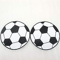 NO SE Conoce Generic 5y44731 68   68 mm balón de fútbol Parche Bordado de  poliéster 92ddaa65a0400