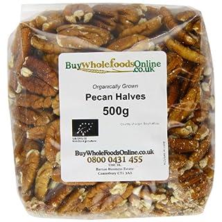 Buy Whole Foods Online  Organic Pecan Nut Halves 500 g