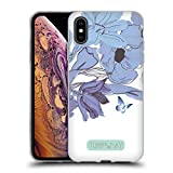 Official Turnowsky Mono Blooms Essence Of Blossom Soft Gel Case for iPhone XS Max