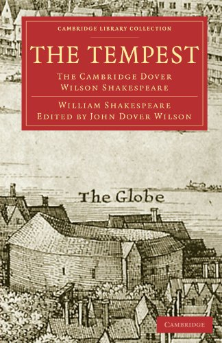 The Tempest: The Cambridge Dover Wilson Shakespeare (Cambridge Library Collection - Shakespeare and Renaissance Drama) thumbnail