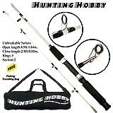 #9: Hunting Hobby Fishing Unbreakable Rod 5.5 Feet, Free Travelling Bag