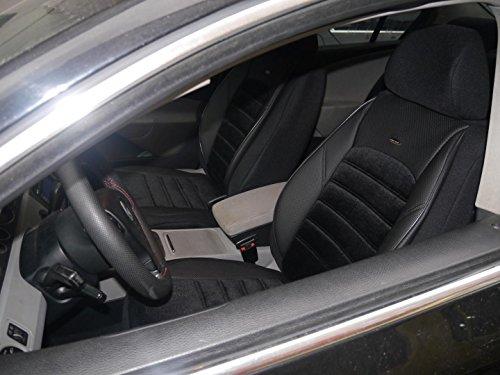 Coprisedili per auto Avant B8 no2 nero protettori set completo per sedili anteriori e posterio