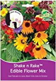 G Plants Shake and Rake Assortiment de graines de fleurs comestibles