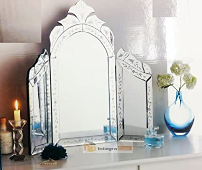 Dressing Table Mirror - 3 Section Mirror