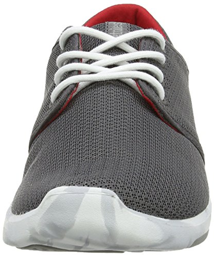 Etnies Scout, Chaussures de skateboard homme Gris (Grey/White/Red/372)