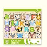 CHANNIKO-DE Holz Digit Tier Puzzle Spielzeug Kinder Bildungs   Developmental Baby Kinder Intelligenz Training Spielzeug Lernen Puzzles Spielzeug