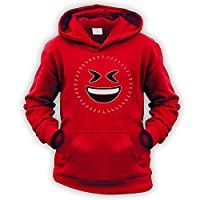 Dot to Dot LOL Emoji Kids Hoodie [Red XXL]