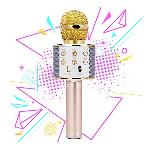 Drahtloses Bluetooth-Mikrofon für Mädchen, Kinder Mädchen Geschenk Alter 7-12 Mädchen Spielzeug für 6-11 Jahre alt Geburtstagsgeschenk für 5-9 Jahre alt Mädchen Geschenk für 8-10 Jahre alt Mädchen (Kinder Alter 7 Spielzeug Mädchen)