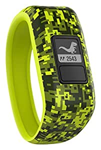 Garmin Vivofit Jr. Motivator and Activity Tracker - Digi Camo/Yellow