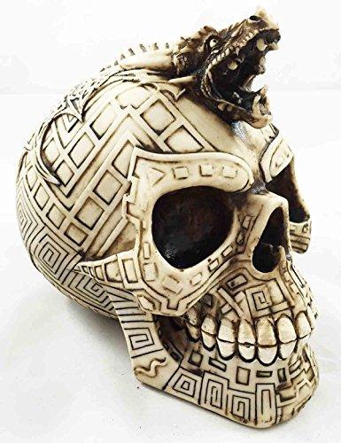 (Tribal Tattoo Schlange Totenkopf Statue Schlacht Chieftain)