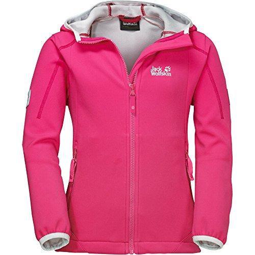 Jack Wolfskin Whirlwind Girls - tropic pink, Größe - Für Ski-jacken 14 Mädchen-größe