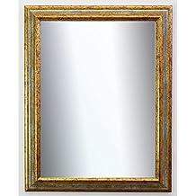 Spiegel Silber Wandspiegel Antik Barock Badspiegel Flur Garderobe Genua 4,3