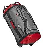 Eagle Creek Cargo Hauler Rolling Duffel ultraleichter Backpacker mit Rucksacktragegurten und Rollen, 120 L, cherry/grey