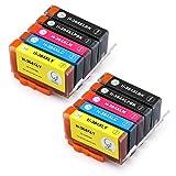 Remplacer pour 364 XL Cartouches d'encre, Gootior 364 Compatible avec Photosmart 5510...