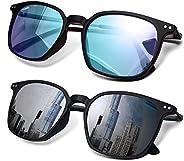 2 Pack Color Blindness Glasses for Men/Color Blind Corrective Glasses for Red-Green and Blue Blindness (Color