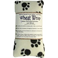 Vagabond Bags Wheat Wrap in Cream Paw Fleece with Cotswold Lavender and Wheat preisvergleich bei billige-tabletten.eu